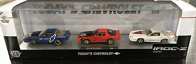 $ CDN100 • Buy M2 Machines Auto Hauler Chase Chevrolet 3 Pack 1985 Camaro Iroc-Z