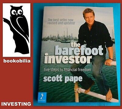 AU11.13 • Buy THE BAREFOOT INVESTOR - Five Steps To Financial Freedom (Scott Pape)  VGC 🟢