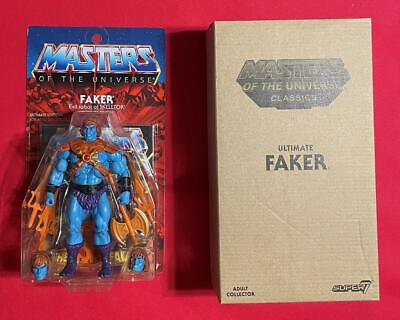 $227.50 • Buy Faker Ultimate Edition Super 7 SEALED New MOTUC He-Man Masters Of The Universe
