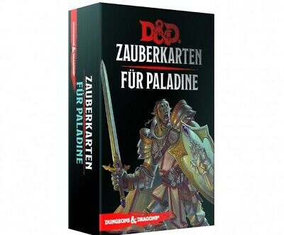 AU44.87 • Buy Dungeons & Dragons Magic Cards For Paladine (German) Cards Spell D & D Paladin