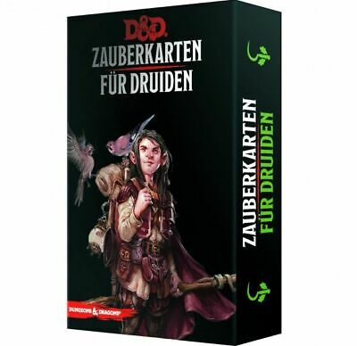 AU54.60 • Buy Dungeons & Dragons Magic Cards For Druids (German) Cards Spell D & D 73917-G