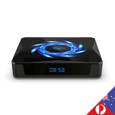 AU89.90 • Buy 6K Quad Core Wifi Bluetooth Android 10.0 TV BOX For Netflix Primo Video AU Plug