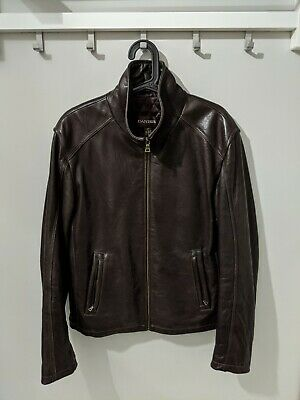 $ CDN129.99 • Buy Danier Slim Leather Jacket W/ Thinsulate Lining - Dark Brown - Men's Size Small