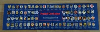 Complete Esso Collection Of Football Club Badges 76 Badges + Presentation Board • 21.99£