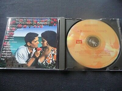 The Postman (il Postino) Soundtrack Cd Music And Poetry    Feat Madonna!  Rare • 6.99£