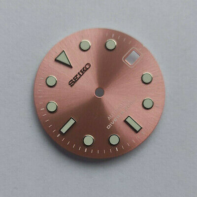 $ CDN60.28 • Buy SUB Dial For Seiko SKX007, Seiko MOD Part, Fits NH35, C3Lume, Pink