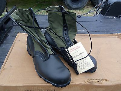 $30 • Buy Size 13.5 Xw Extra Wide  Green Jungle Boots  Military  Surplus Spike Protected