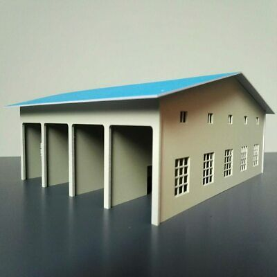 $ CDN47.61 • Buy OO HO Scale Locomotive Shed Warehouse Building For Model Train Layout 1/87
