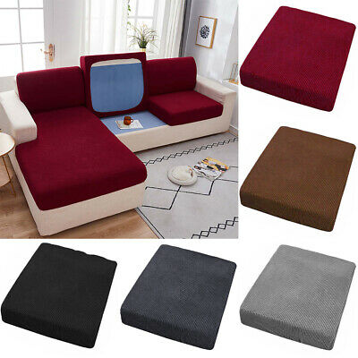 AU21.37 • Buy 1-3 Seater Sofa Seat Covers Couch Slipcover Cushion Elastic Durable Protector