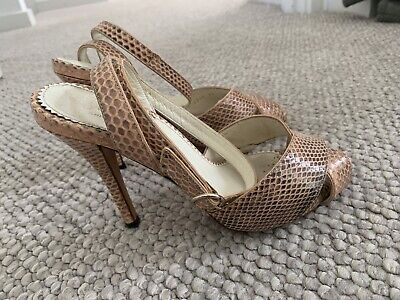 AU150 • Buy YVES SAINT LAURENT YSL Tan Suede Heels Size 36 EUC
