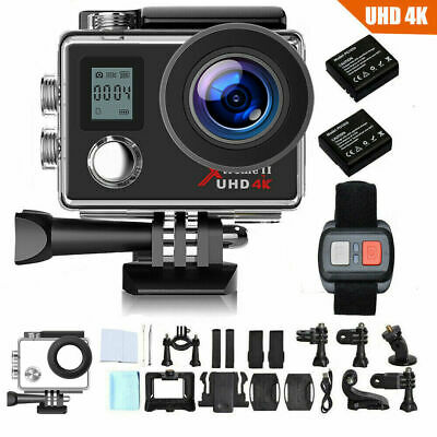 AU65.61 • Buy 4K 16MP WIFI Waterproof Sports Action Cam DVR Recorder Remote Control With GoPro
