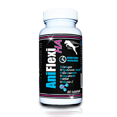 AniFlexi HA Dog Supplement - Joint And Bone Health With Hyaluronic Acid Gamedog • 14.99£