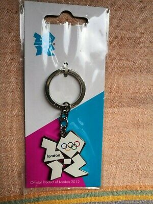 £4.99 • Buy Official Product Of London 2012 Olympics Games Metal Keyring Keychain