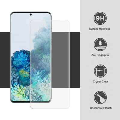 $ CDN3.01 • Buy For Samsung Galaxy S20 S10 S8 S9 Plus Tempered Glass Screen Protector Full COVER