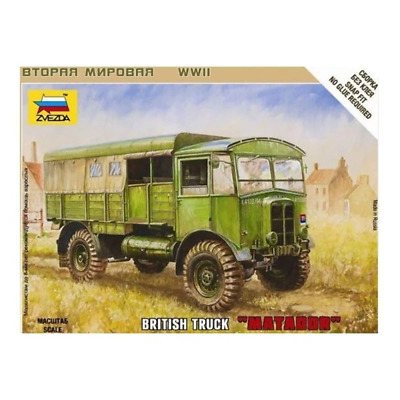 AU8.99 • Buy Zvezda 6175 1/100 British Matador Truck Brand New
