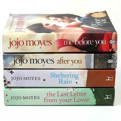 AU55 • Buy 4x Jojo Moyes Paperback Novels Incl. Me Before You, After You, Sheltering Rain