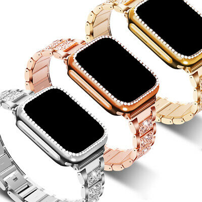 AU23.99 • Buy Apple Watch Bands Strap & Protective Case IWatch Series SE 6 5 4 3 2 40/44 38/42