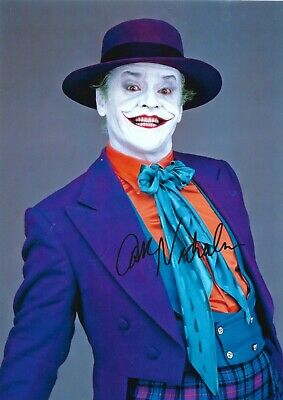 £149.99 • Buy Jack Nicholson (the Joker) Hand Signed Large 12  X 8 Inch Colo Photograph
