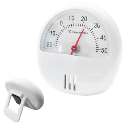 £2.99 • Buy Handy Magnetic Thermometer With Stand Room Fridge Temperature Gauge Dial Shed