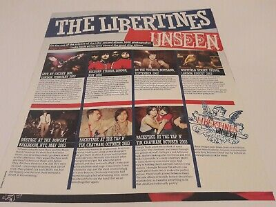 The Libertines - Mini Poster Collection - Booklet With 8 Different Images  • 3.99£