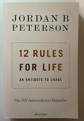 AU22 • Buy 12 Rules For Life - Jordan B. Peterson (Paperback With Defect)
