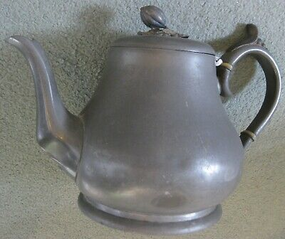 Antique Pewter Teapot Made By James Dixon & Sons Sheffield 51884 • 8.50£