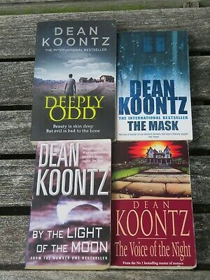 Dean Koontz 4: Mask / By The Light Of The Moon / Voice Of The Night / Deeply Odd • 0.99£