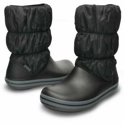 Crocs Winter Puff Boots Kids Warm Lined Winter Snow Soft Fashion Boots • 23£