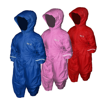 Regatta Splosh Waterproof Padded All In One  Snow Rain Suit Kids • 22.99£