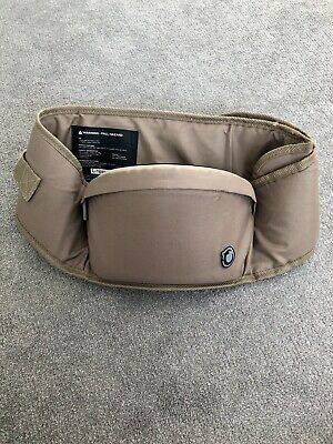 Hippychick Hipseat, Coffee, Excellent Condition • 25£