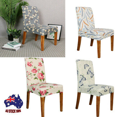 AU23.61 • Buy Spandex Stretch Wedding Banquet Chair Cover Party Decor Dining Room Seat Covers
