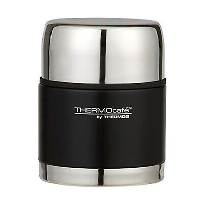 AU31.95 • Buy THERMOS THERMOcafe 500ml Everyday S/S Vacuum Insulated Food Jar Matte Black!