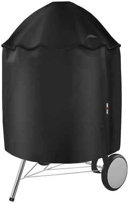 $ CDN43.03 • Buy 27.7  Dia BBQ Grill Cover Heavy Duty Waterproof For 22  Weber Charcoal Grills
