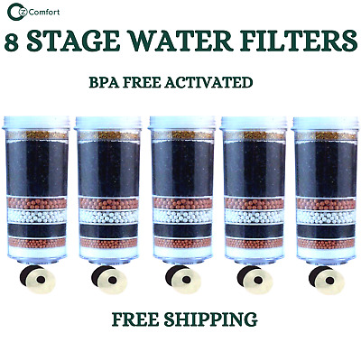 AU95 • Buy Aimex 7 8 Stage Water Filter Carbon Mineral Ceramic Replacement  5 Water Filters