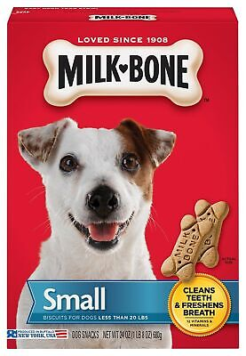 $25.62 • Buy Milk-Bone Original Dog Treats For Small Dogs, 24 Ounce (Pack Of 4)