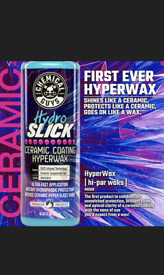 $35 • Buy Chemical Guys HydroSlick Hydro Slick Ceramic Coating SIO2 Hyper Wax 16oz
