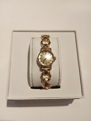 Reloj De Oro Omega Mujer Vintage/ 18ct Yellow Gold Omega Vintage Ladies Watch • 1,519.31£