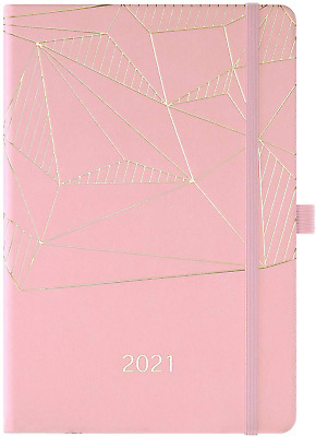 £7.08 • Buy 2021 Weekly & Monthly A5 Diary Planner, Jan To Dec, Pen Holder, Pocket, Banded