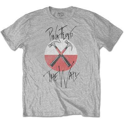 £21.40 • Buy Pink Floyd The Wall Faded Hammers Roger Waters Official Tee T-Shirt Mens