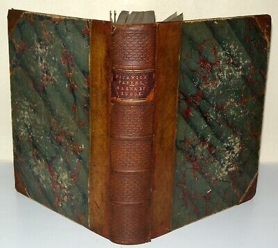 £44 • Buy Pickwick Papers/ Barnaby - Charles Dickens - Chapman & Hall - Illustrated - HB