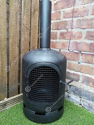Gas Bottle Wood Burner/Log Burner/ Chiminea/Patio Heater/Garden/outdoor Heater.  • 130£