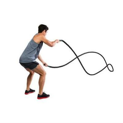 AU89.99 • Buy 9m Battle Rope / Black / Ideal For Fitness Routine