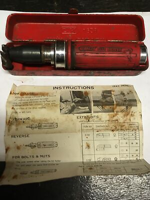 Vintage CK Impact Driver No.4928 With 3 Bits, Instructions & Tin • 25£