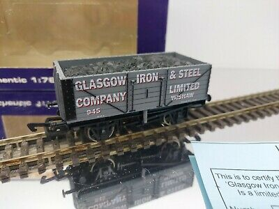 Dapol OO GLASGOW IRON AND STEEL Coal Wagon Limited Edition  • 39.99£