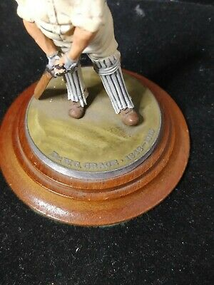 DR. W.G. GRACE Cricket Figurine,wood Base And White Metal/lead Figurine • 49.99£