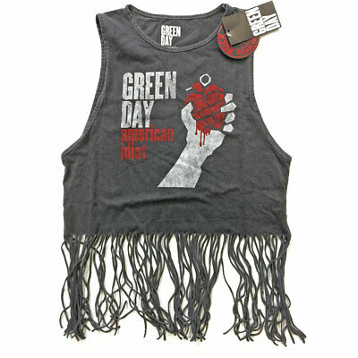 £13.99 • Buy Ladies Green Day Vest American Idiot Vintage Official Tee T-Shirt Womens
