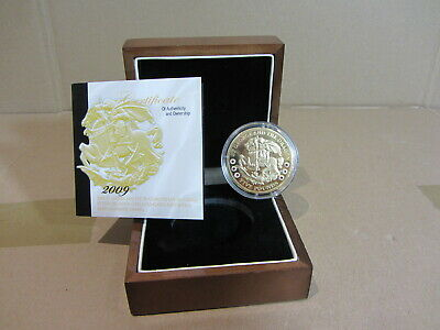 £30 • Buy 2009 St George And The Dragon Tristan Da Cunha £5 Sterling Silver Coin