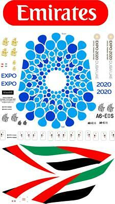 Airbus A380 Expo Emirates A6-EOS  Decal 1144 For Revell • 8.58£
