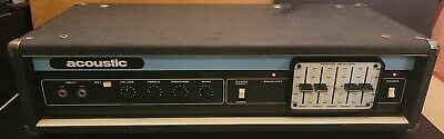 $ CDN318.96 • Buy Vintage 1970's Acoustic Model 220 Electric Bass Guitar Amplifier Amp Head Rare!!