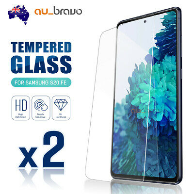 AU6.95 • Buy 2x Tempered Glass Screen Protector Film Guard For Samsung Galaxy S20 FE 5G